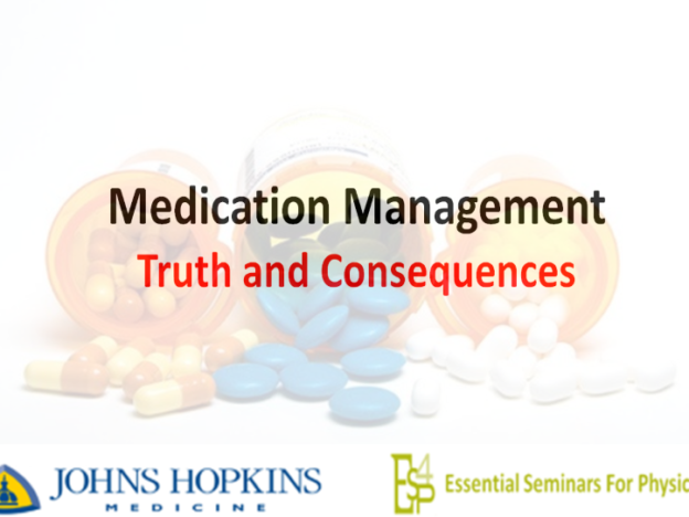 Medication Management: Truth and Consequences 1.5 CME course image