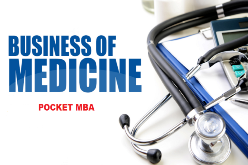 Business of Medicine Pocket MBA Certificate 16 CME