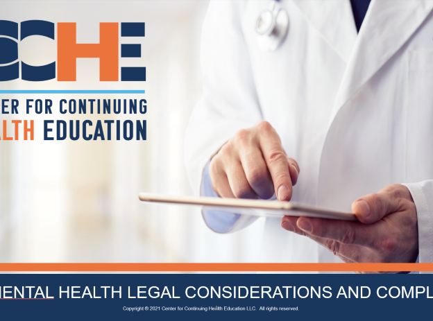 TeleMental Health Legal Considerations and Compliance 1.5 CME course image