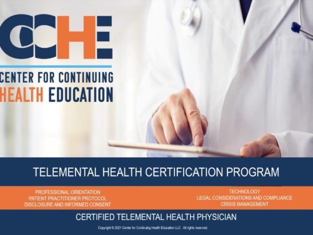 Telemental Health Practitioner Certification Program 11.0 CME course image