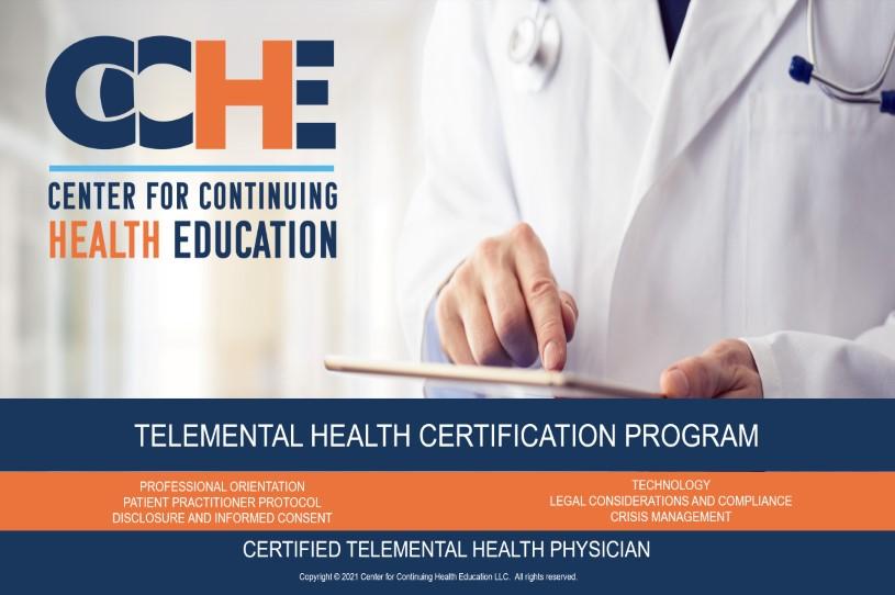 Certified Telemental Health Physician Program 11.0 CME