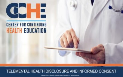 Telemental Health Disclosure and Informed Consent 2.0 CME