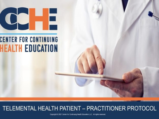 Telemental Health Patient - Practitioner Protocol 2.25 CME course image