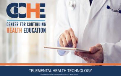 Telemental Health Technology 2.0 CME